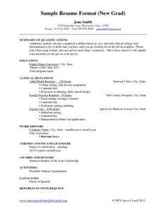 Resume Summary Statement Recent Graduate Www Annanimmo Com