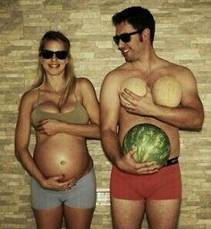 Cute pregnancy photo