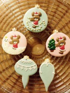 アイシングクッキーとレッドベルベット の画像|盛岡市 JSA認定 アイシングクッキー教室 シャンティフラワー 日々の手作りお菓子とドタバタ育児奮闘記
