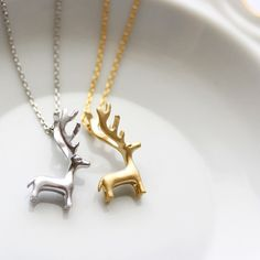 These adorable Reindeer Necklaces are just $12.00, plus you can use our coupon code BLACKFRIDAY for an additional 25% off! I gave this my daughter's preschool teachers last year for Christmas it was a hit! Comes in child and adult sizes, silver and gold