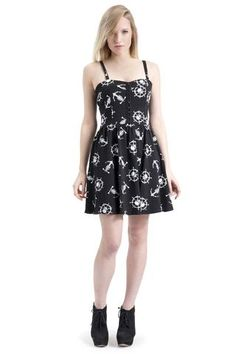 Ghost Ship Skater Dress Gothic Dress 214ce505a
