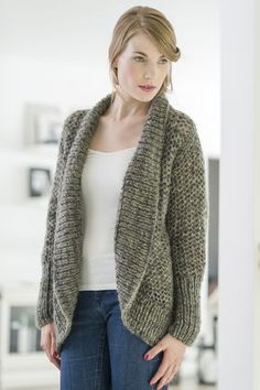 Stickad kofta i Novita Lehto | Novita knits