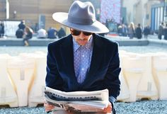 Tommy Ton Shoots the Street-Style Scene at the Couture Shows