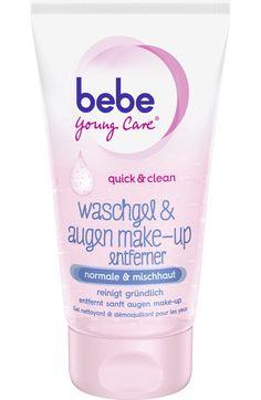 quick&clean Waschgel & Augen Make-Up Entferner