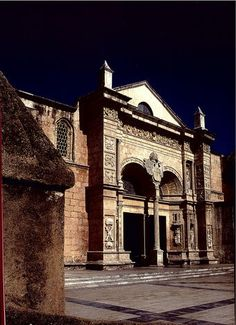 Colonial City Cathedral First in Ameroca  - Santo Domingo, DOMINICAN REPUBLIC. .