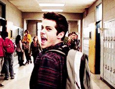 19 Relationship Problems As Told By Stiles Stilinski mostly love this for the giant amount of Dylan gifs
