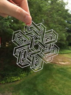 DawningDesigns on etsy.com Hand cut optical illusion paper cutting art. Wedding, first anniverssary paper art custom order personalized