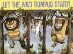 Did you know: Where the Wild Things Are was originally conceived as Where the Wild Horses Are?