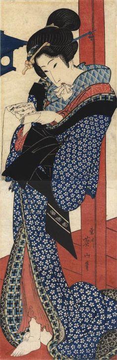 Artist: Kikugawa Eizan (1787-1867)