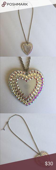 New Tarina Tarantino Heart Necklace Never worn. Original dust bag not included. Tarina Tarantino Jewelry Necklaces