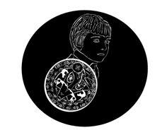 Consultez mon projet @Behance: \u201cL'Enfant au bouclier d'indien\u201d https://www.behance.net/gallery/14708283/LEnfant-au-bouclier-dindien