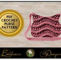 Purse Handbag Clutch Crochet Pattern