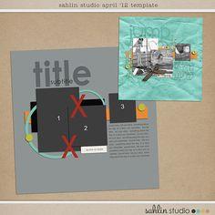 Template FREEBIE by Sahlin Studio