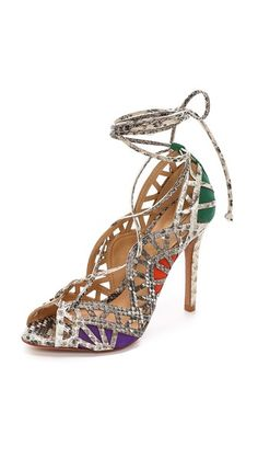 Schutz Dubianna Lace up Sandals| Reposted by |  http://stores.ebay.com/Fashionista-Princess-Jewelry