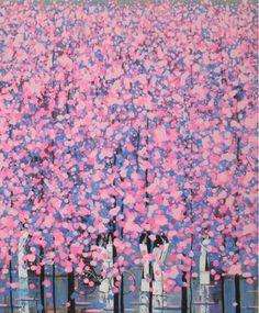 "Saatchi Art Artist xuan khanh nguyen; Painting, ""Spring 2"" #art"