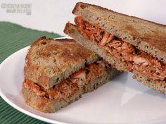 Recipe for Gluten Free, Sugar Free Recipe for Pulled Barbecue Chicken Sandwich - Sugar Free, simplysugarandglutenfree.com