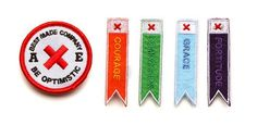 adorable merit badges from Best Made Company, spotted on Design Mom