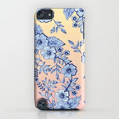 Blue Rhapsody iPod Touch Case by Patricia Shea Designs on #Society6