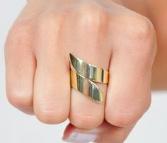 Gold  or Silver Twist Ring - Uncovet