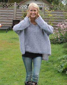 Strikkeopskrift Himmelspjæt sweater