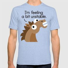 Get the shirt at Society6: https://society6.com/product/trigger-warning_t-shirt?curator=oneweirddude  #coffee #horse #funny #olenick #society6 #tshirt #clothes #wtf #coffee #coffeeshirt #lovecoffee #caffeine #damngoodcoffee