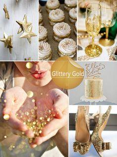 idéias brilhantes cores de casamento do ouro para 2014 primavera