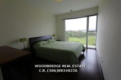San Jose Costa Rica furnished apartment for rent $1.400 2 bedrs, 2 baths 2 parkings, contact Woodbridge real estate Costa Rica mobile (506)88340226