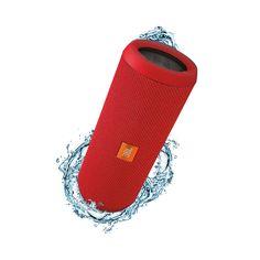JBL Flip 3 refurbished Red  De JBL Flip 3 is de volgende generatie in de bekroonde Flip serie; het is een complete draagbare Bluetooth-luidspreker met verrassend krachtig kamervullend stereogeluid. Deze ultra-compacte luidspreker wordt gevoed door een 3000mAh oplaadbare Li-ion batterij die 10 uur speeltijd biedt voor stereo audio van hoge kwaliteit. De Flip 3 heeft een duurzame spatwaterdichte afwerking en is verkrijgbaar in 8 frisse kleuren. De Flip 3 is veelzijdig geschikt voor alle…