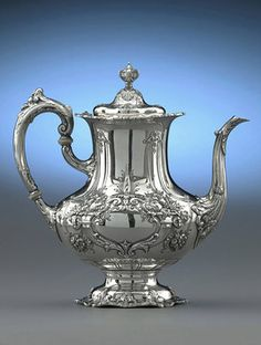 American Silver, Reed and Barton, Francis I Water Kettle  M.S. Rau Antiques
