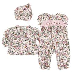 44df3a64ef644 Von Maur - Harry   Violet Infant Girl Floral Printed Knit Coverall