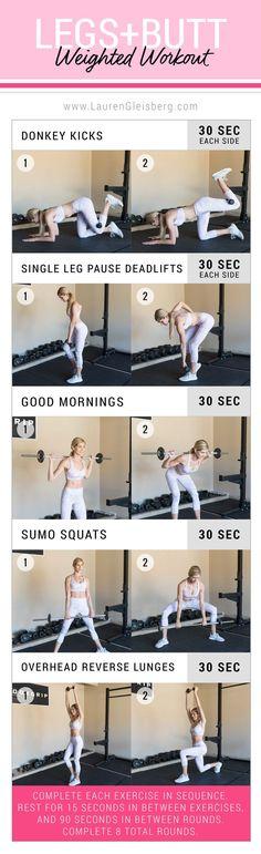 ConfidenceKini- Legs + Butt Circuit Workout (W5D1)