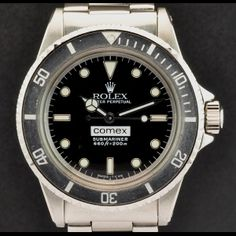 Rolex S/steel Oyster Perpetual Comex Submariner 5514  http://www.watchcentre.com/product/rolex-s-steel-oyster-perpetual-comex-submariner-5514/1373