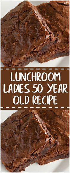 Lunchroom Ladies 50 year old recipe – Fresh Family Recipes recipes family;dinner recipes for family;healthy recipes for family;recipes for family; Old Recipes, Popular Recipes, Sweet Recipes, Family Recipes, Family Meals, Healthy Recipes, Family Family, Recipies, Brownie Recipes