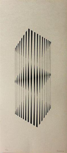 Composição Concreta Artist: Lothar Charoux Style: Concretism Genre: abstract