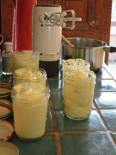Making your own lotion is a fun project and easy to do, once you've got the ingredients. It's a good way to save money, create a natural product that's good for your skin and scent it however you choose. There are a lot of variations on this recipe, but this is the one I use most often.