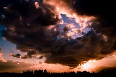 Sunset and Clouds 1