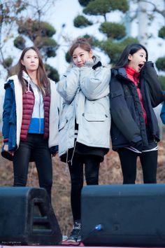 Nine Muses ERin, SungA and HyunA