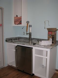 Kitchen Island Kegerator my kitchen will have this kitchen remodel with built in kegerator