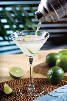 July 19th is National Daiquiri day, and to celebrate here is the original Daiquiri recipe which simply includes rum, lime juice and sugar.