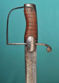 Collection de Sabres et Epées des Guerres Napoléoniennes: Sabre d'Officer de Grenadier du 37th Foot Infantry Anglais
