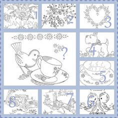 the baby gardener embroidery pattern - http://ahavenforvee.blogspot.com/2011/01/embroidery-patternsmosaic-monday.html