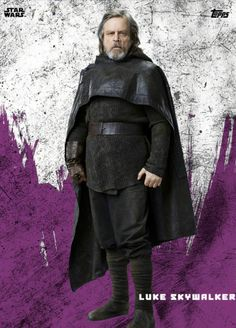 In the old Trilogy Luke is supposed to look cool and he just looks dumb, and in this one, he's supposed to look menacing and he just looks like a cute grandpa, XD.