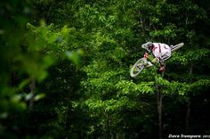 Mitch Ropelato throwing some style! #mountain bike, #downhill