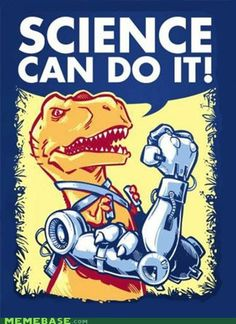 Haha he's controlling them with his tiny T-Rex arms. Keep doing you, T-Rex.