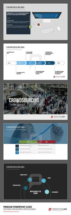 Crowdsourcing is a type of outsourcing where projects are given to a public crowd or online community.