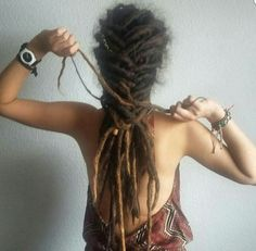Dreadlock Styles #dreadlockhairstyles Dreadlock Hairstyles #Dreads
