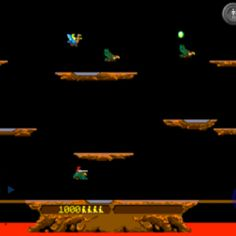 Joust! My favorite classic arcade game