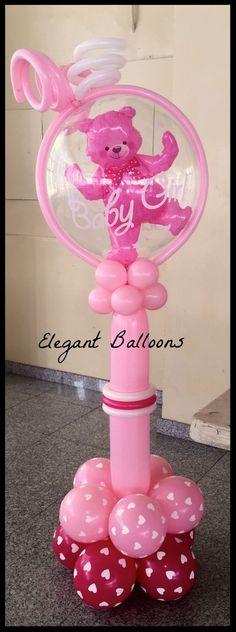 #babyshowerballoons #elegantballoons
