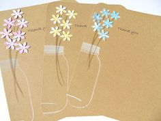 Thank You Cards   Wedding Thank You Cards  Bridal by suziescards, $12.50