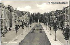 Oude Briefkaart Breda - Willemstraat